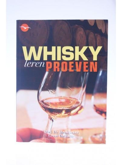 Whisky leren Proeven Boek