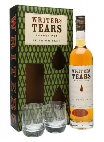 Writer's Tears Copper Pot Single Malt Whiskey Giftset