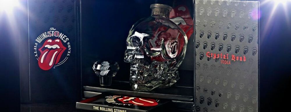 Crystal Head Rolling Stone Vodka